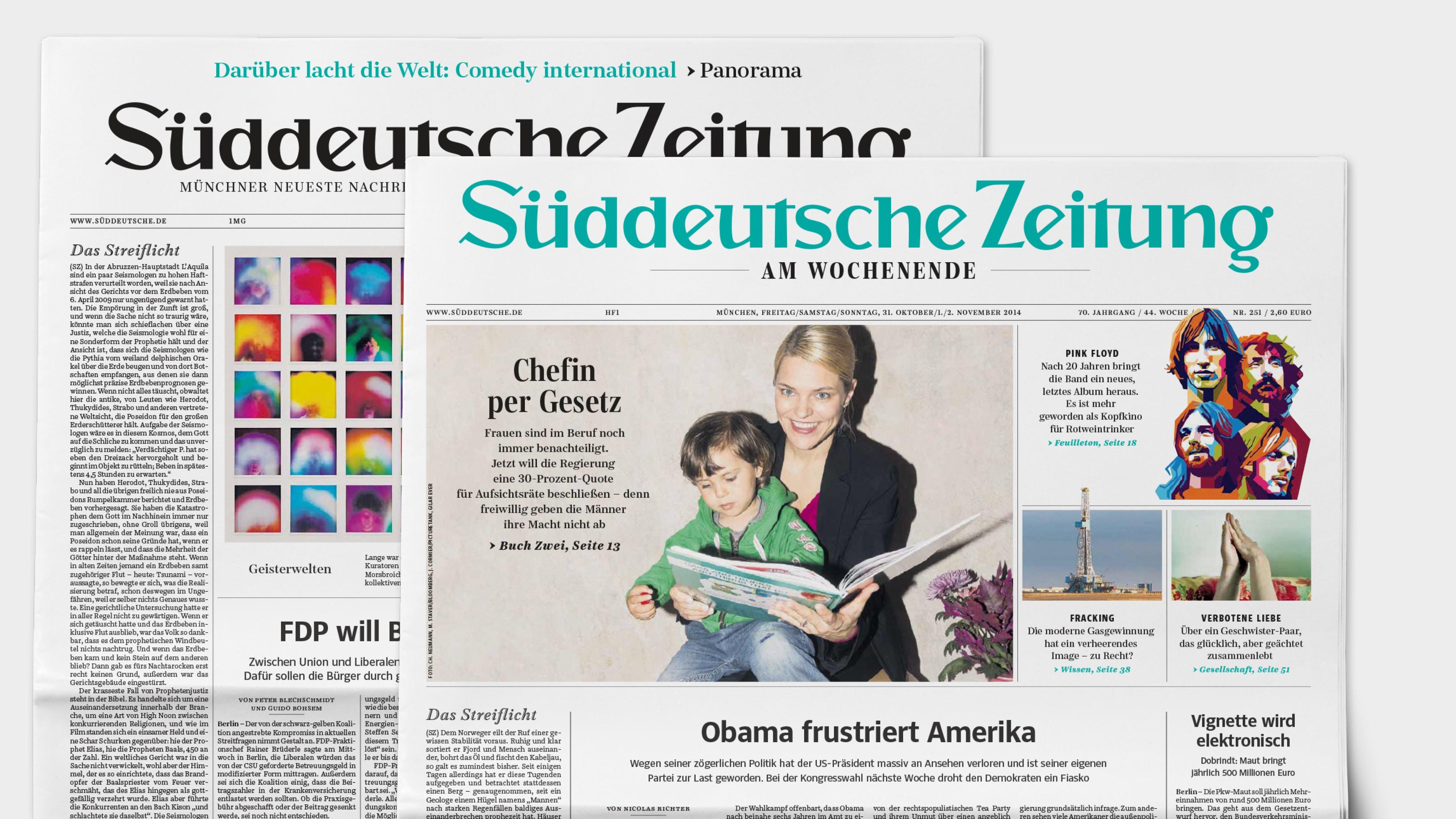 Character Type – Süddeutsche Zeitung